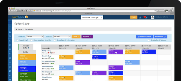 Corporate finance to Rota Geek - employee scheduling tool