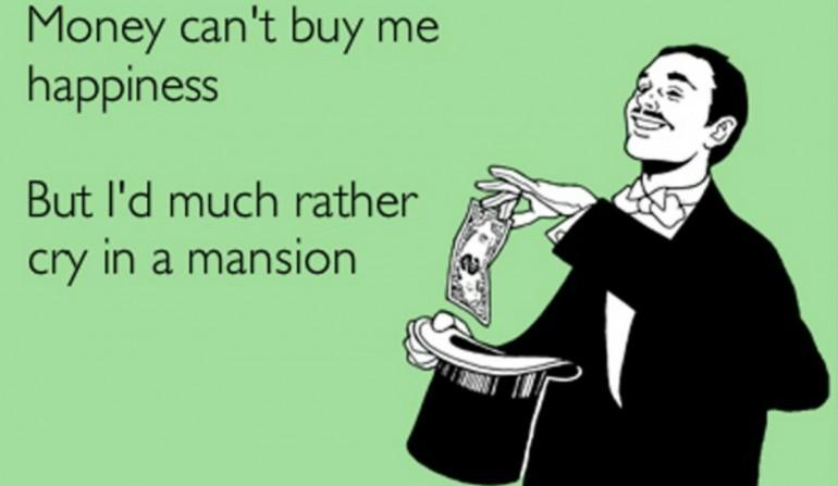 Earn more money, be happier
