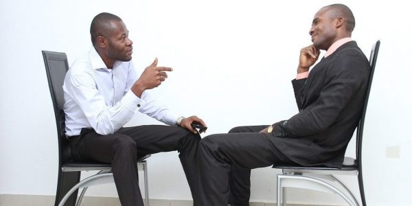 startup job interview body language tips