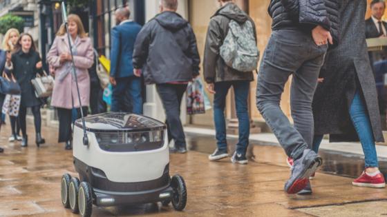 London AI Startup Starship Technologies