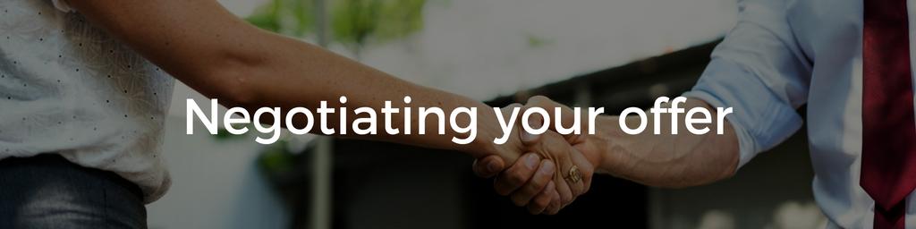 Negotiating your startup job offer