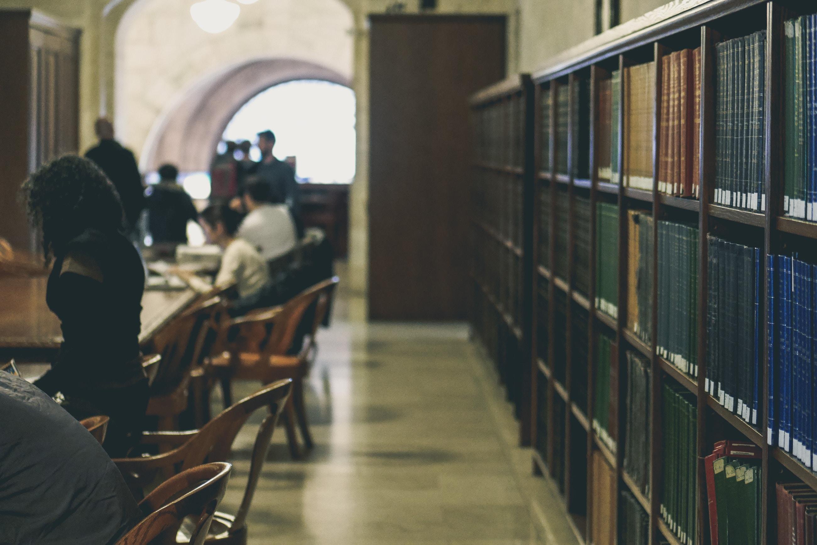 University Library. Photo by Davide Cantelli on Unsplash.