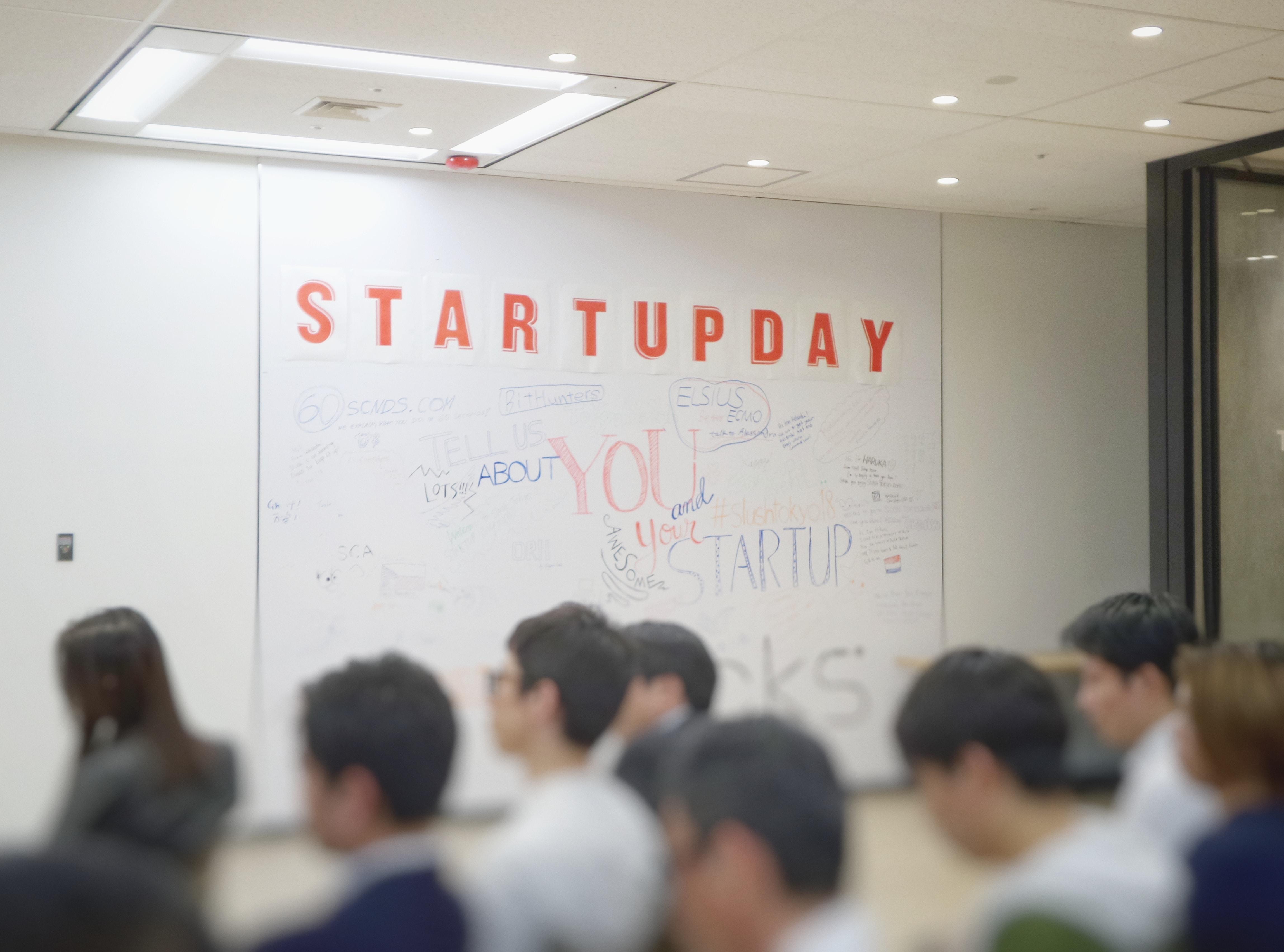 Startup Day. Photo by Franck V. on Unsplash